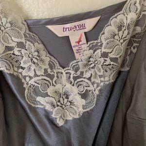Cacique Intimates & Sleepwear - Tru to you cacique lingerie top 22/24 grey 3X